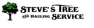 Steve's Tree & Hauling Service Logo